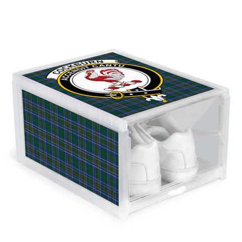 Cockburn Ancient Clan Crest Tartan Scottish Shoe Organizers