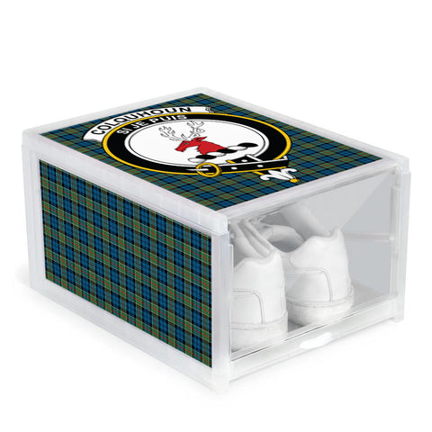 Image of Colquhoun Ancient Clan Crest Tartan Scottish Shoe Organizers