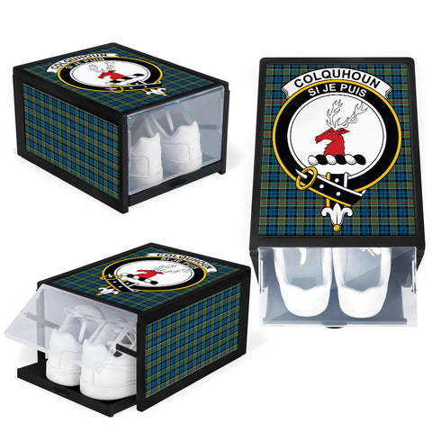 Colquhoun Ancient Clan Crest Tartan Scottish Shoe Organizers K9