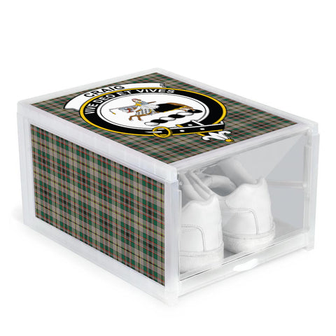 Craig Ancient Clan Crest Tartan Scottish Shoe Organizers