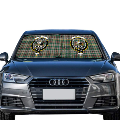 Craig Ancient Clan Crest Tartan Scotland Car Sun Shade 2pcs