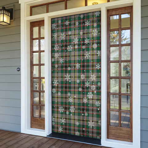 Craig Ancient Christmas Tartan Door Sock Cover