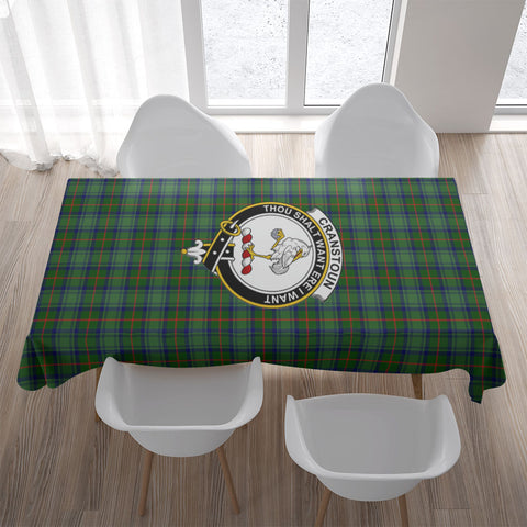 Cranstoun Crest Tartan Tablecloth | Home Decor