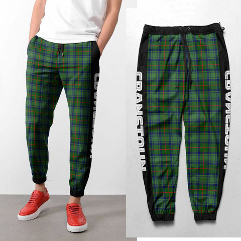 Cranstoun - Tartan All Over Print Sweatpants - BN