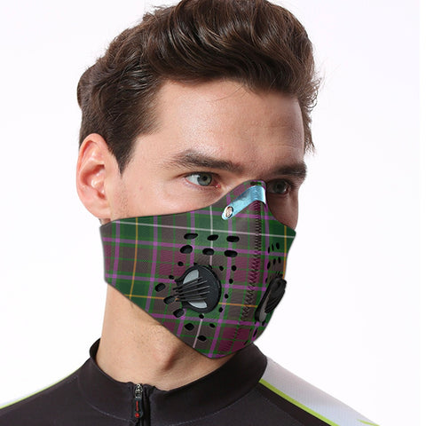 Crosbie Tartan Dust-proof Sports Masks ( Model 1) - TH88 (USA Shipping Line)