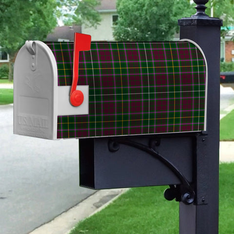 Image of ScottishClan Crosbie Tartan Crest Scotland Mailbox A91