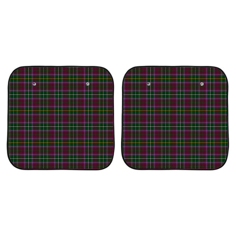 Image of Crosbie Clan Tartan Scotland Car Sun Shade 2pcs K7