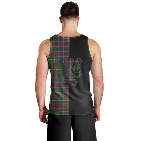 Image of Crosbie Clan Tank Top Lion Rampant