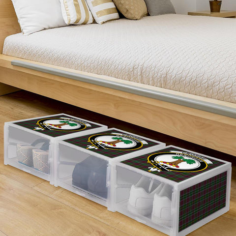 Image of Crosbie Clan Crest Tartan Scottish Shoe Organizers K9