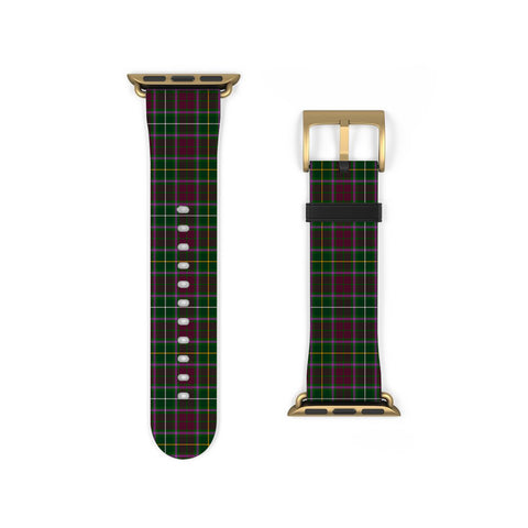 Image of Crosbie Scottish Clan Tartan Watch Band Apple Watch