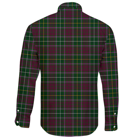 Image of Crosbie Tartan Clan Long Sleeve Button Shirt A91
