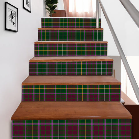 Scottishshop Tartan Stair Stickers - Crosbie Stair Stickers A91