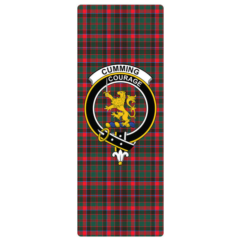 Image of Cumming Hunting Modern Clan Crest Tartan Yoga mats
