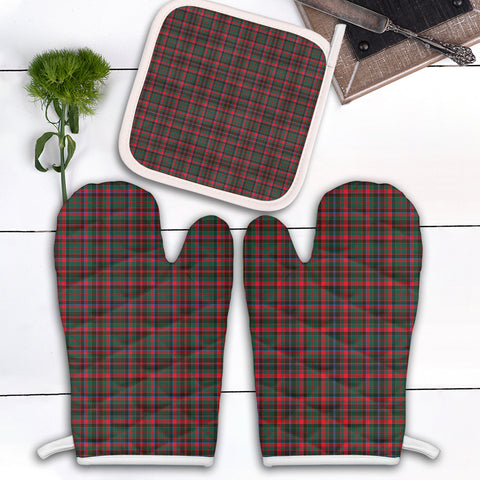 Cumming Hunting Modern Clan Tartan Scotland Oven Mitt And Pot-Holder (Set Of Two)