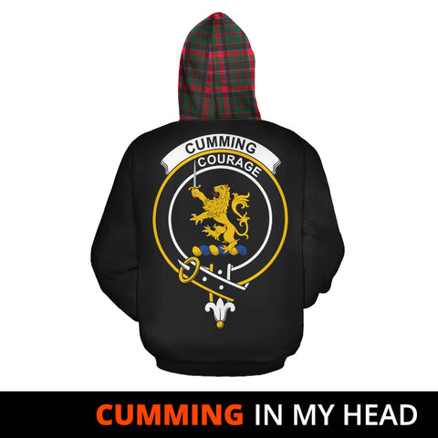 Cumming Hunting Modern In My Head Hoodie Tartan Scotland K9