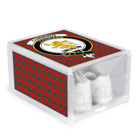 Cumming Modern Clan Crest Tartan Scottish Shoe Organizers