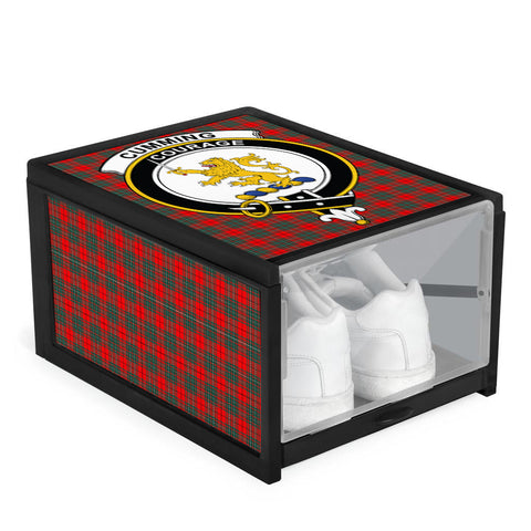 Cumming Modern Clan Crest Tartan Scottish Shoe Organizers K9