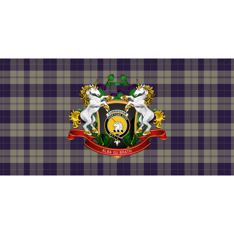 Cunningham Dress Blue Dancers Crest Tartan Tablecloth Unicorn Thistle A30