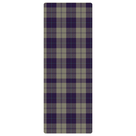 Cunningham Dress Blue Dancers Clan Tartan Yoga mats