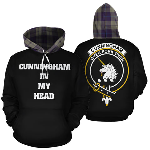 Cunningham Dress Blue Dancers In My Head Hoodie Tartan Scotland K9