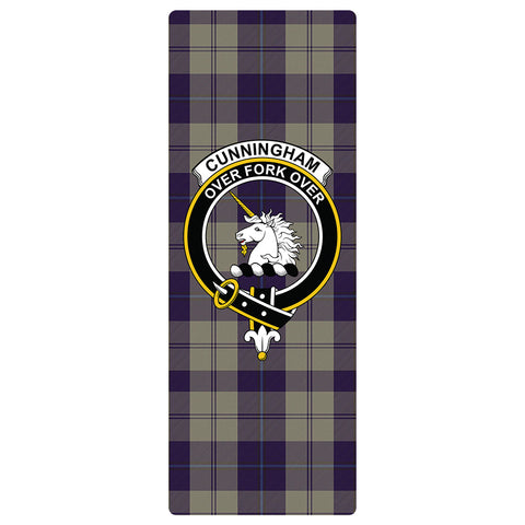 Cunningham Dress Blue Dancers Clan Crest Tartan Yoga mats