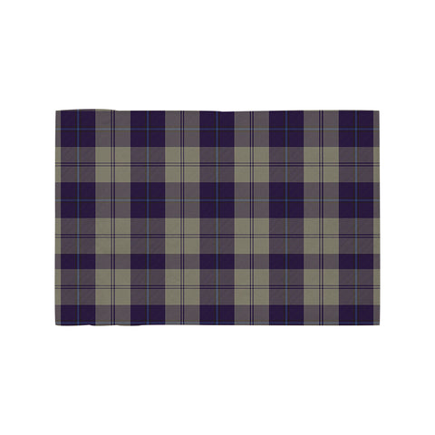 Cunningham Dress Blue Dancers Clan Tartan Motorcycle Flag