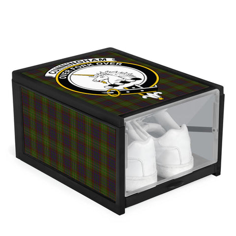 Image of Cunningham Hunting Modern Clan Crest Tartan Scottish Shoe Organizers K9