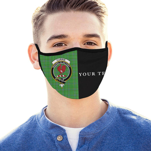 Image of Currie Tartan Mouth Mask The Half (Custom) Th88