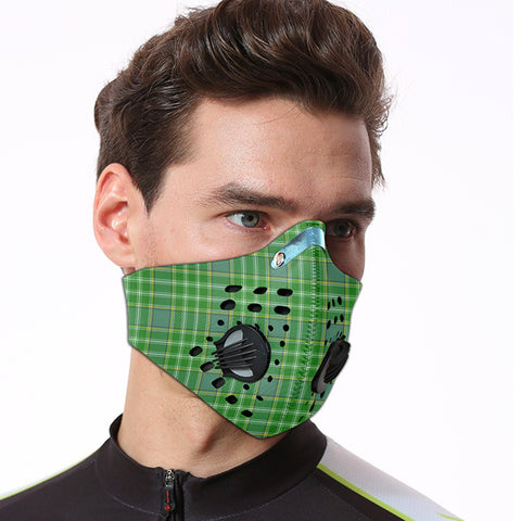 Currie Tartan Dust-proof Sports Masks ( Model 1) - TH88 (USA Shipping Line)