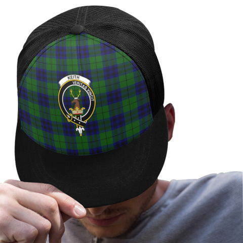 Image of Keith Modern Tartan Trucker Hat All Over K7