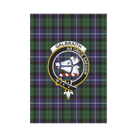 Image of Galbraith Modern Tartan Flag Clan Badge K7