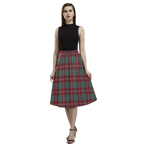 Crawford Modern Tartan Aoede Crepe Skirt | Exclusive Over 500 Tartan