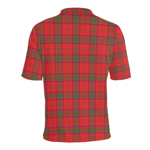 Image of Ross Modern Tartan Polo Shirt HJ4