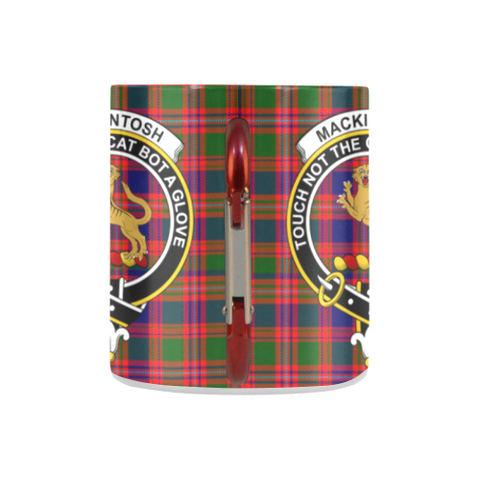 Macintyre Modern Tartan Mug Classic Insulated - Clan Badge K7