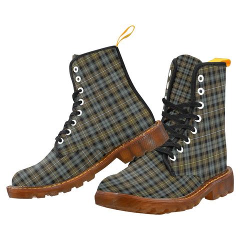 Campbell Argyll Weathered Martin Boot | Scotland Boots | Over 500 Tartans