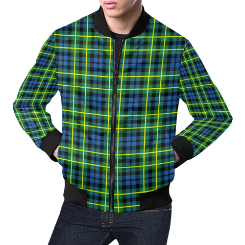 Campbell of Breadalbane Ancient Tartan Bomber Jacket | Scottish Jacket | Scotland Clothing