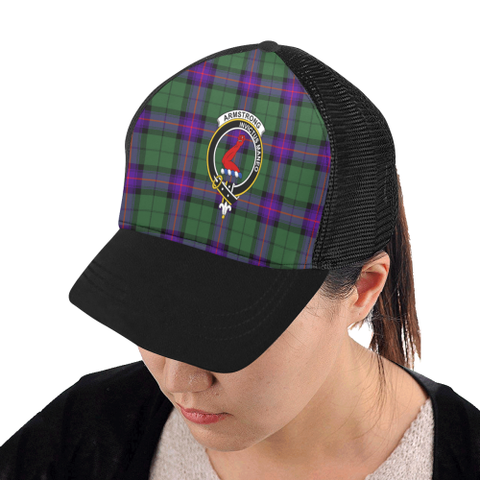 Armstrong Modern Tartan Trucker Hat All Over