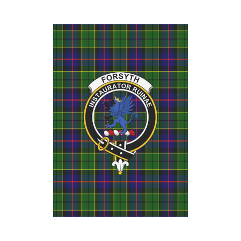 Forsyth Modern Tartan Flag Clan Badge K7