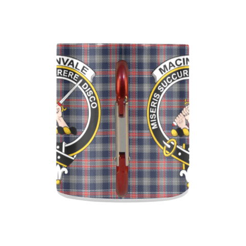 Image of MacInvale Tartan Mug Classic Insulated - Clan Badge K7