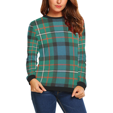 Ferguson Ancient Tartan Crewneck Sweatshirt TH8