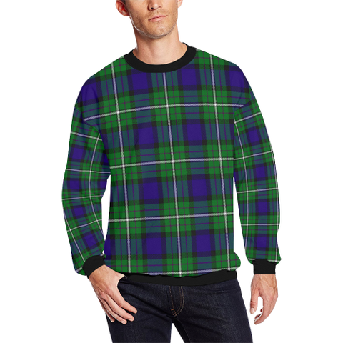 Image of Alexander Tartan Crewneck Sweatshirt TH8