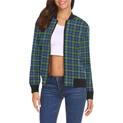 Campbell Argyll Ancient Tartan Bomber Jacket | Scottish Jacket | Scotland Clothing