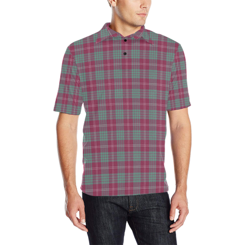 Image of Crawford Ancient  Tartan Polo Shirt