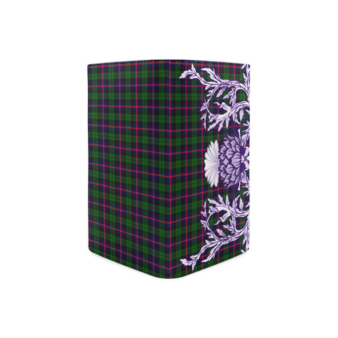 Urquhart Modern Tartan Wallet Women's Leather Thistle A91