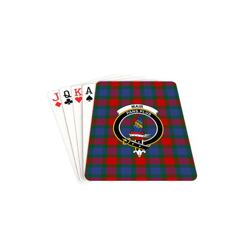 Mar Tartan Clan Badge Playing Card TH8
