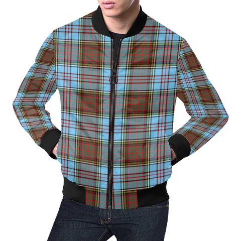 Image of Anderson Ancient Tartan Bomber Jacket | Scottish Jacket | Scotland Clothing