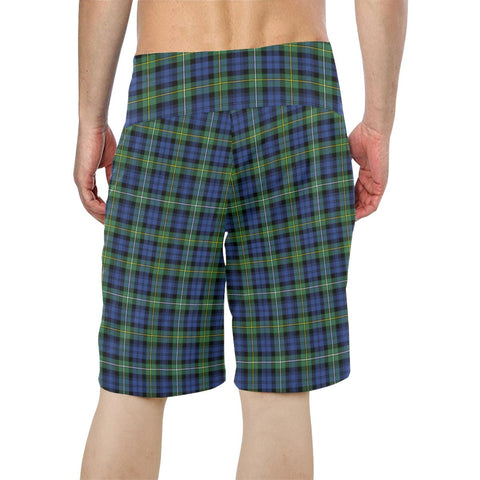 Campbell Argyll Ancient Tartan Board Shorts TH8
