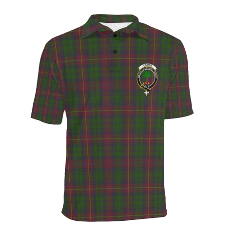 Cairns Tartan Clan Badge Polo Shirt HJ4