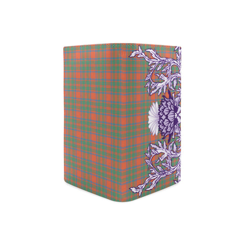 MacKintosh Ancient Tartan Wallet Women's Leather Thistle A91