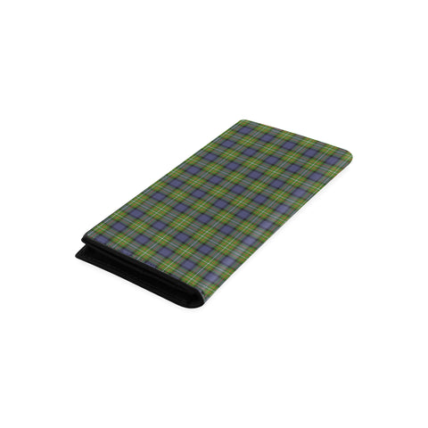 Fergusson Modern Tartan Wallet Women's Leather Thistle A91